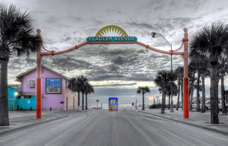 Flagler Avenue New Smyrna Beach Fl