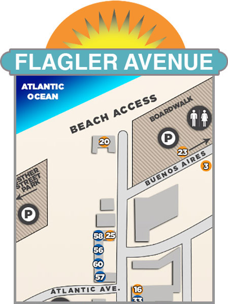 Flagler Avenue Map
