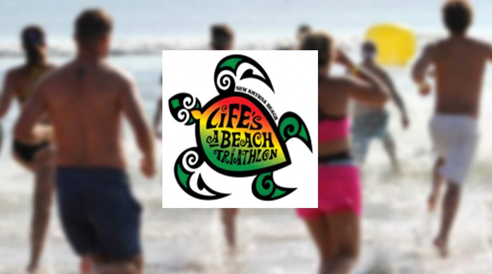 Lifes a Beach Triathalon NSB FL