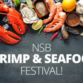 New Smyrna Beach Shrimp and Seafood Festival – August 1st