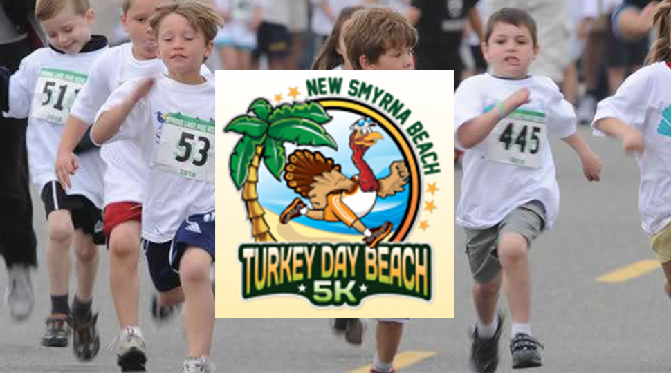 Turkey Day Beach 5K Race New Smyrna Beach