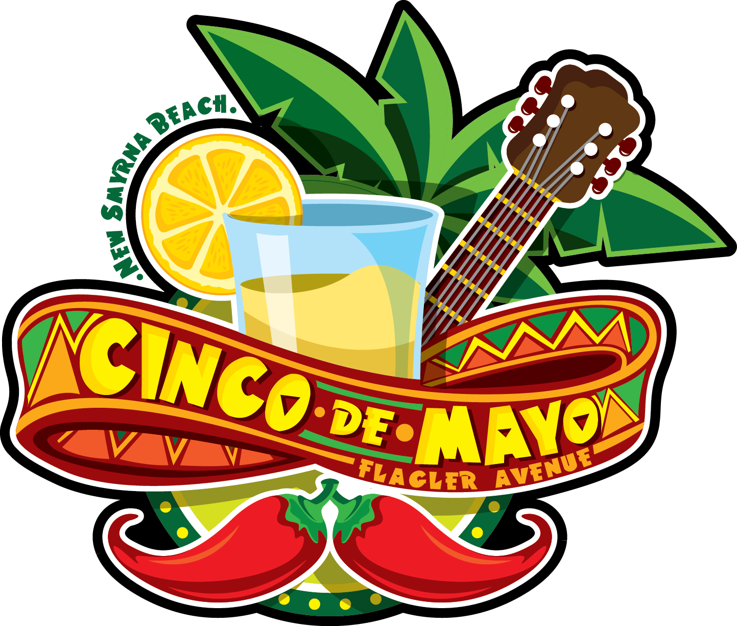 Cinco De Mayo Celebration Tacos Tequila Festival Flagler Avenue New Smyrna Beach