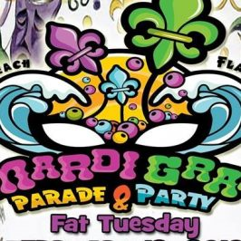 Fat Tuesday Mardi Gras Parade on Flagler