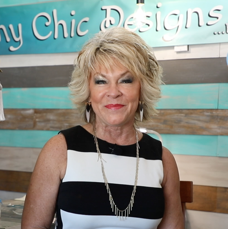 Photo of Sheri Williams owner of Beachy Chic on Flagler Avenue