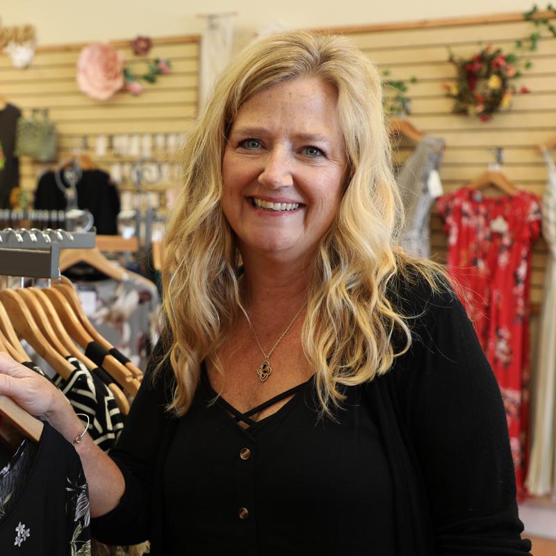 Photo of Zoe Neuner owner of Look Charmed on Flagler Avenue