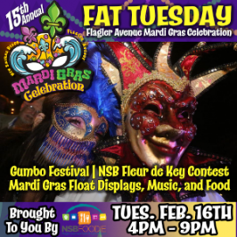 Flagler Avenue 15th Annual Mardi Gras Celebration