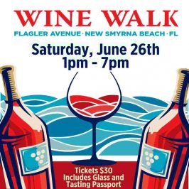 Flagler Avenue Wine Walk – June 2021